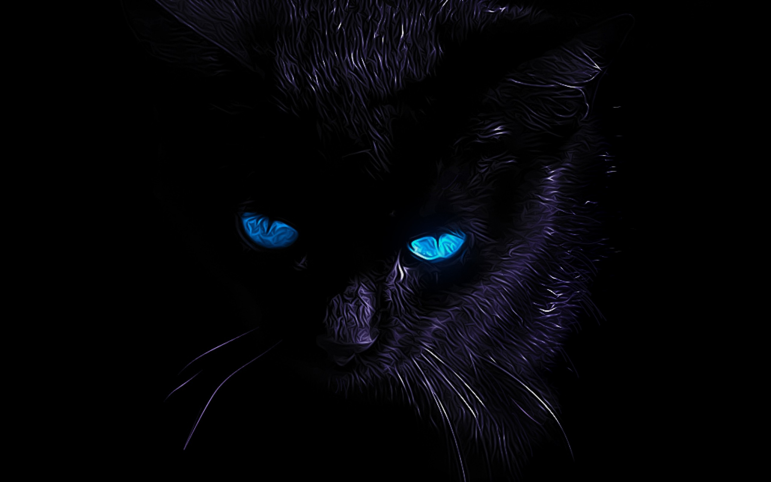Black Cat Wallpaper 7