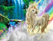 Unicorn background 8