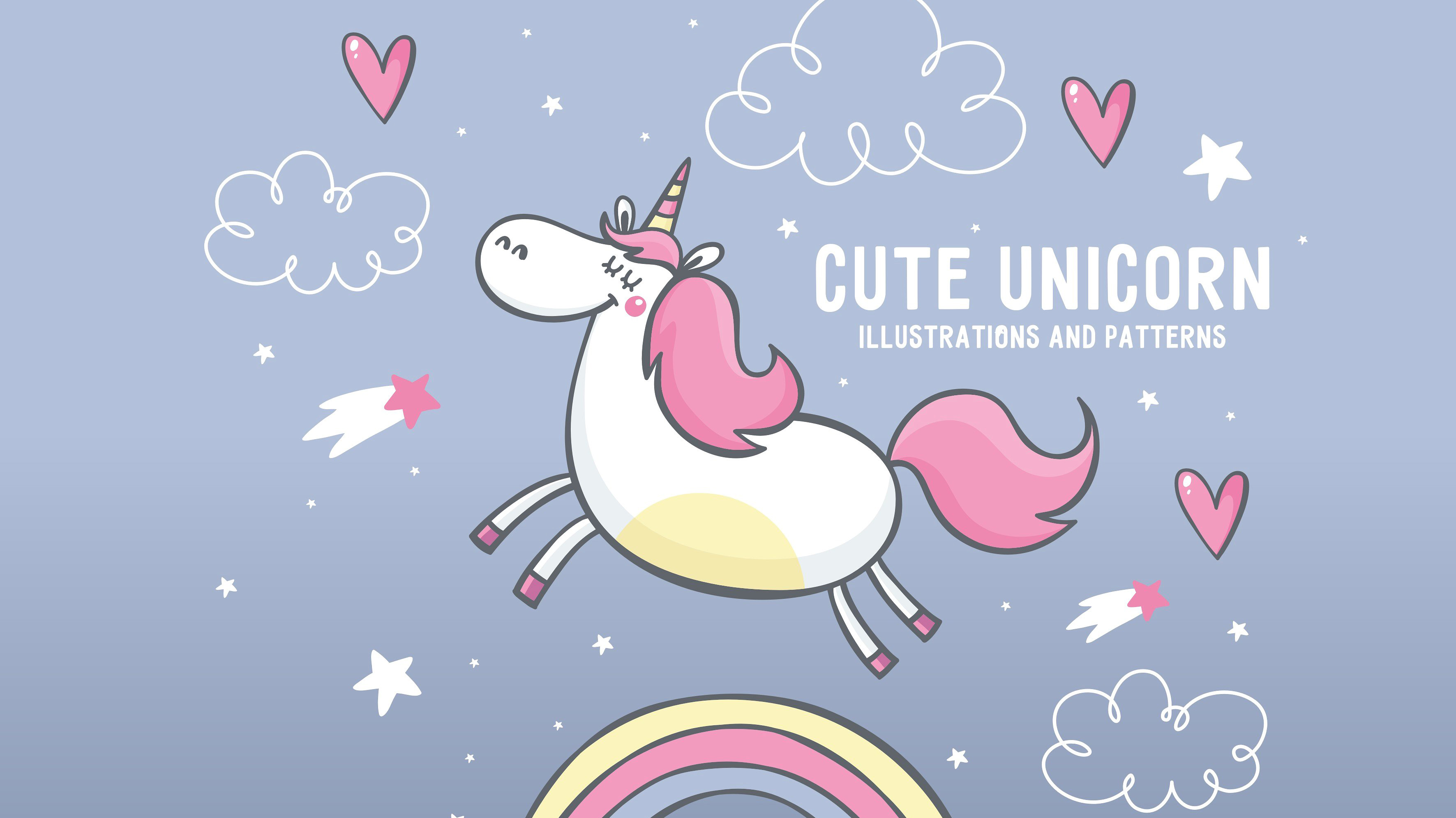 Unicorn background 1