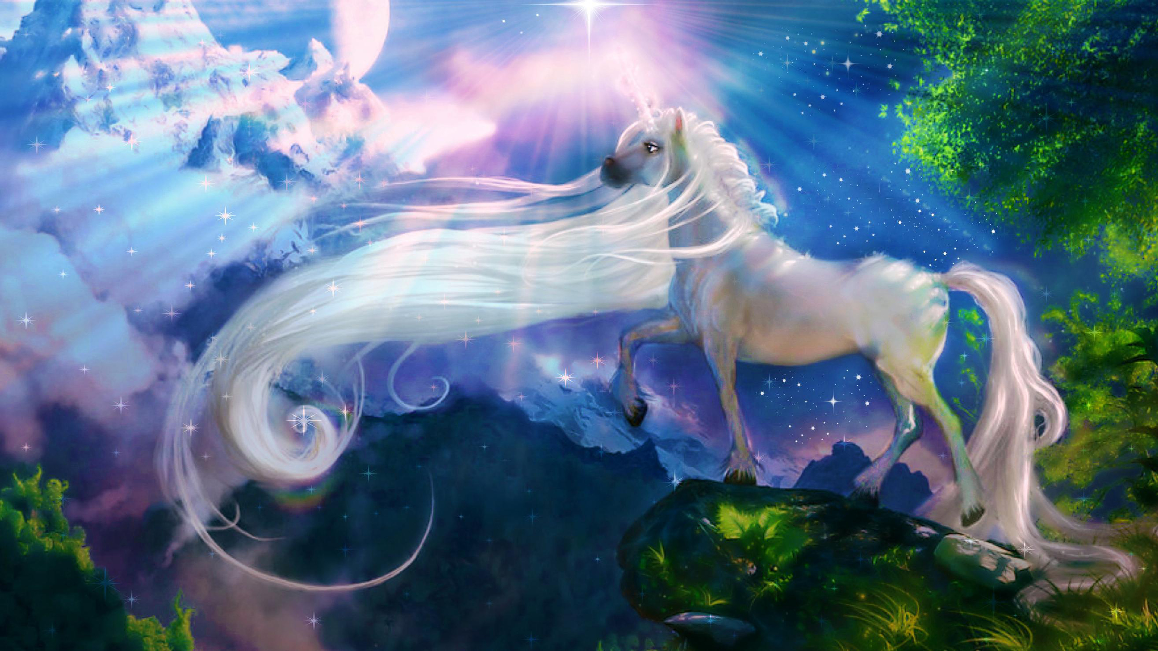 Unicorn background 12