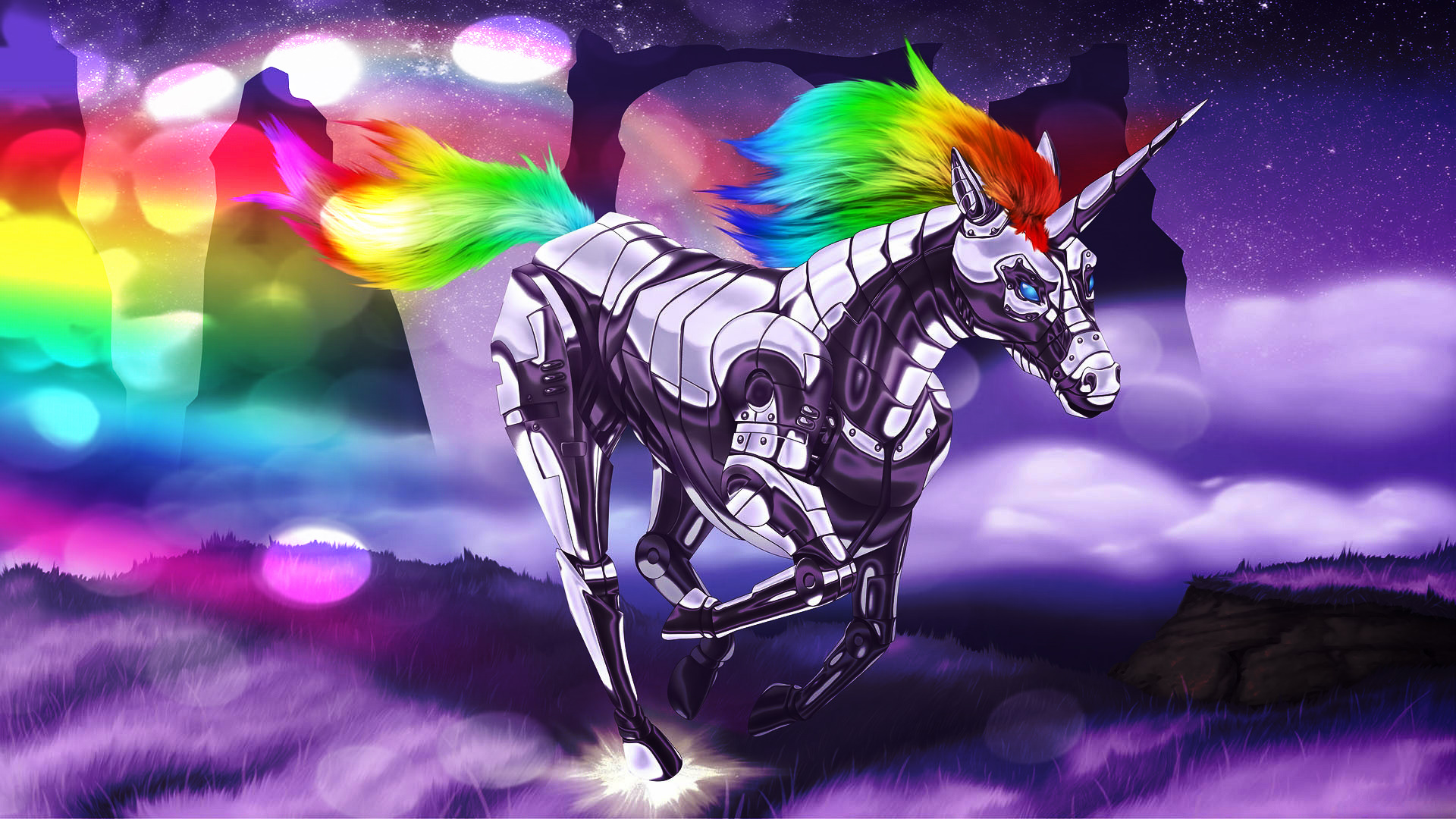 Unicorn background 14