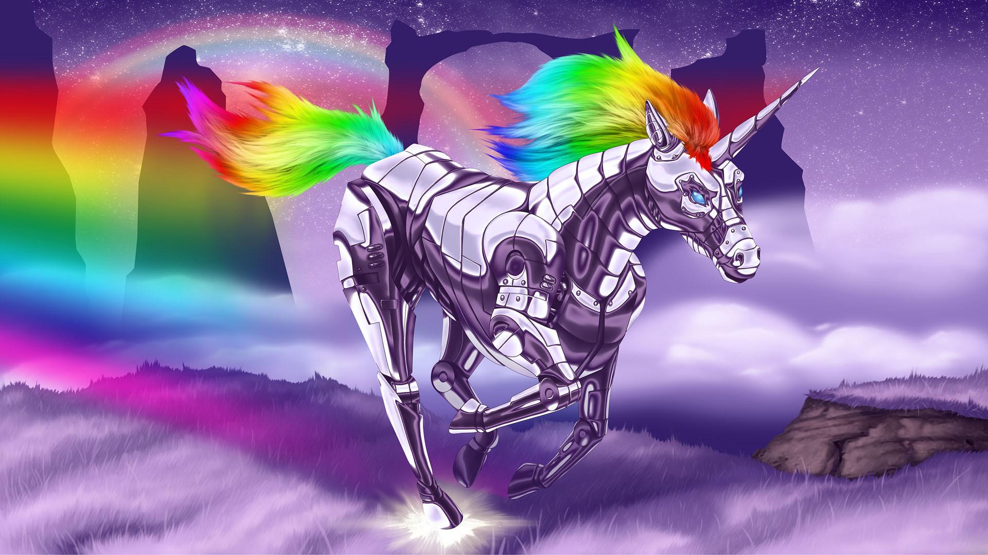 Unicorn background 4