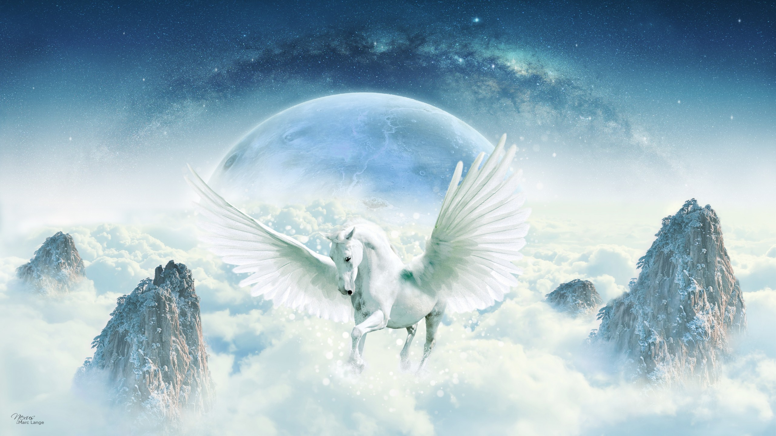 Unicorn background 9
