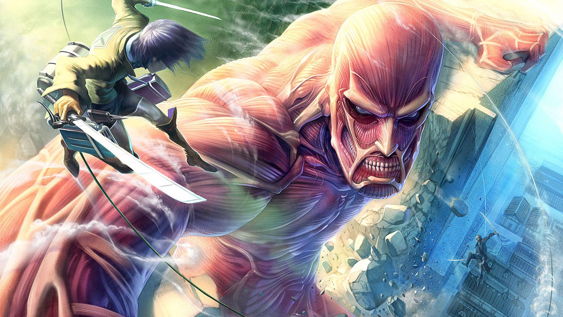 Attack on Titan wallpaper 1