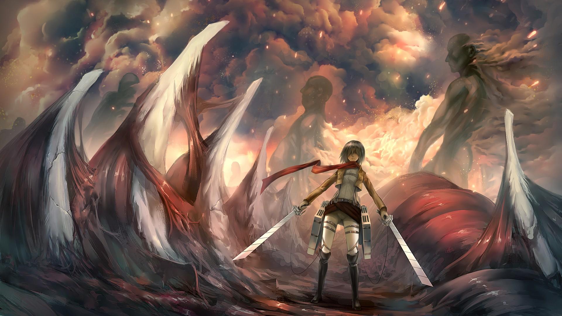 Attack on titan backgrounds eren