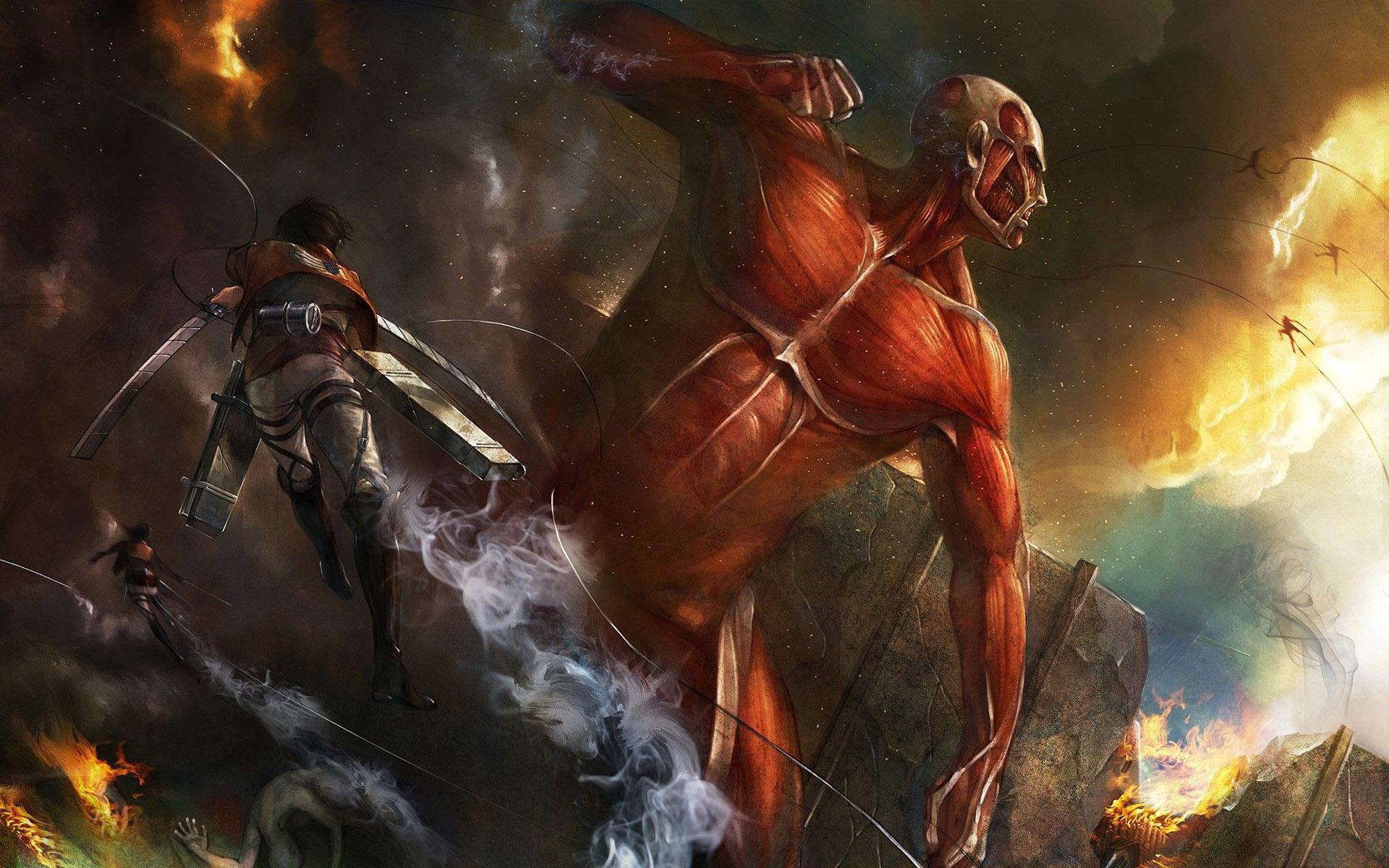 Attack On Titan Wallpaper 8