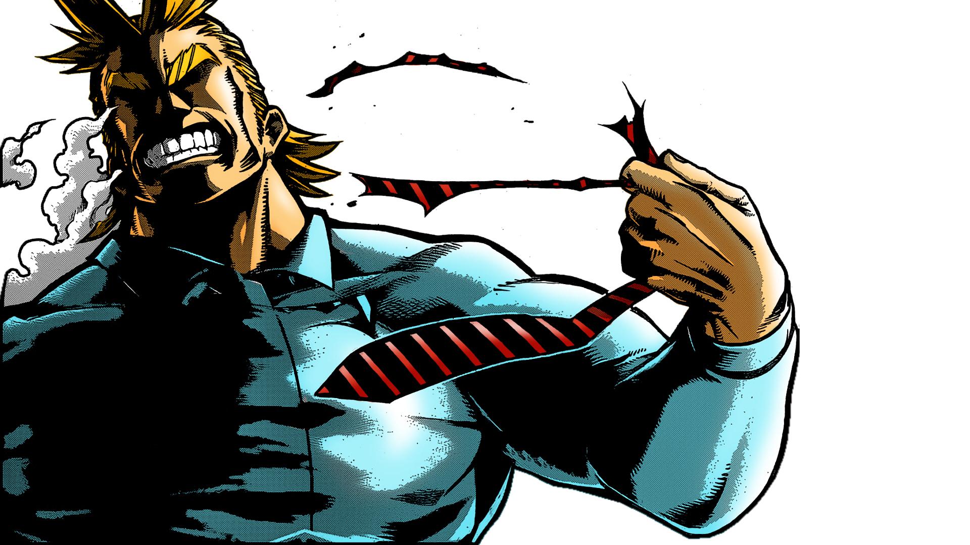 Boku no Hero All Might background 1