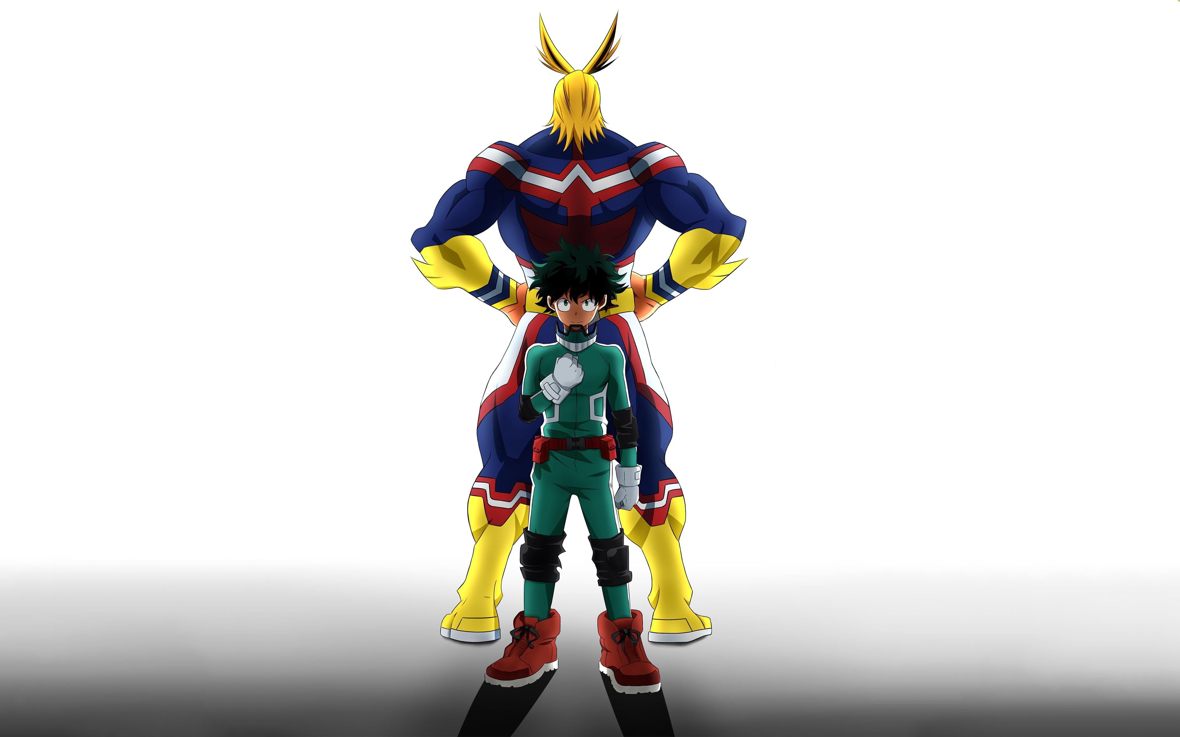 Boku no Hero All Might background 6