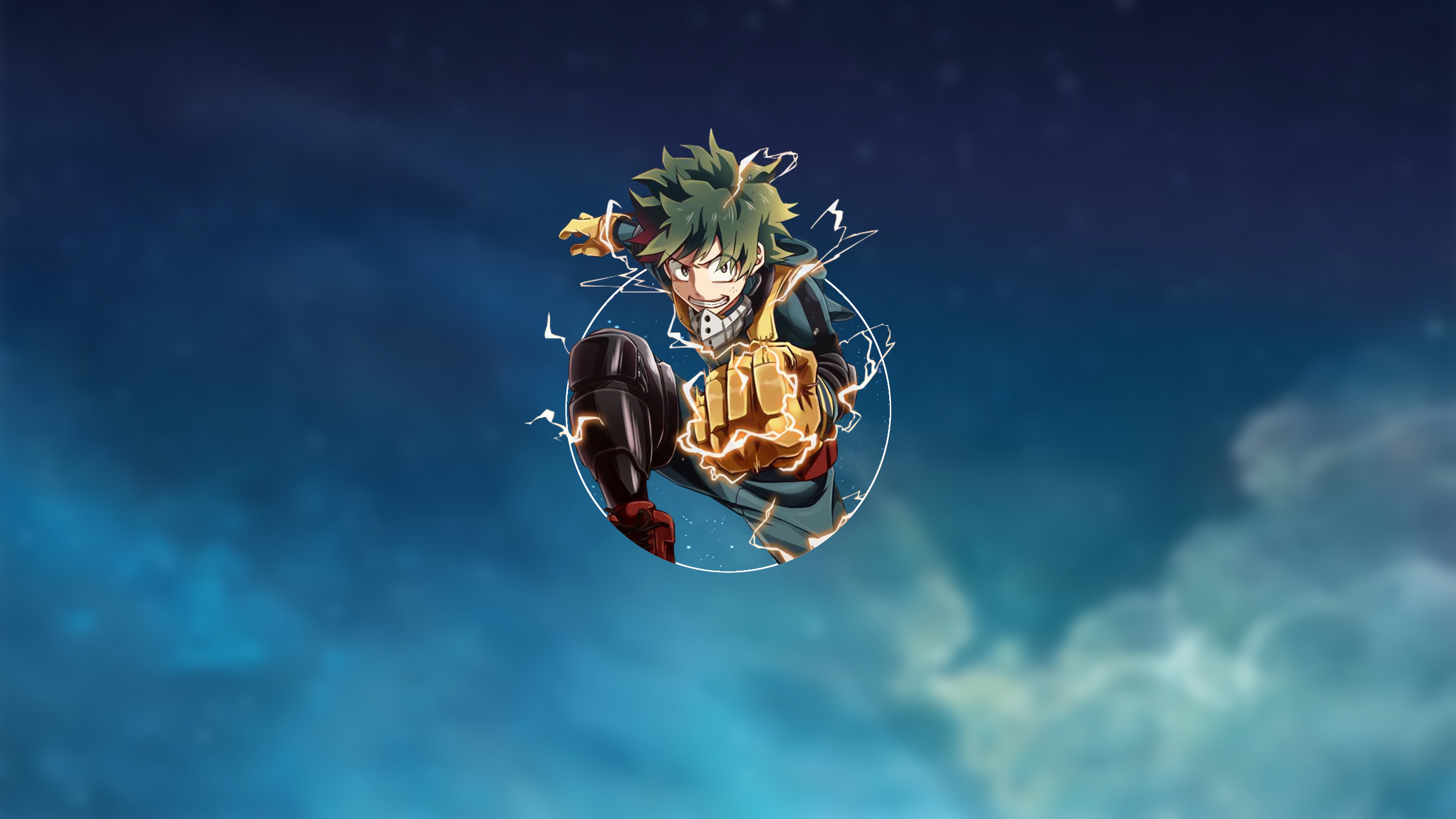 Boku no Hero Midoriya background 4
