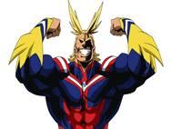 Boku no Hero All Might background 2