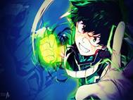 Boku no Hero Midoriya background 5