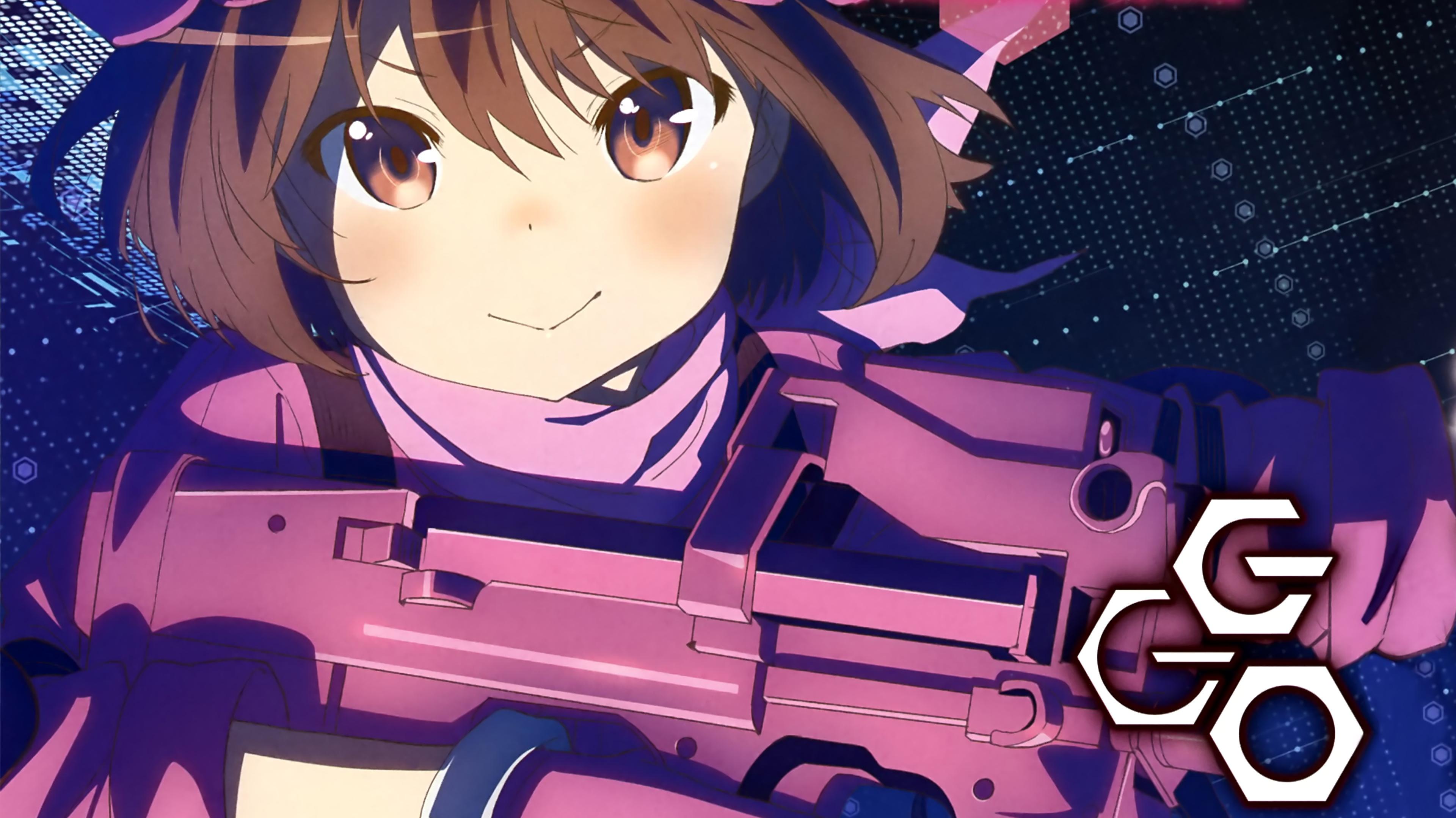 SAO Alternative Gun Gale Online wallpaper 16