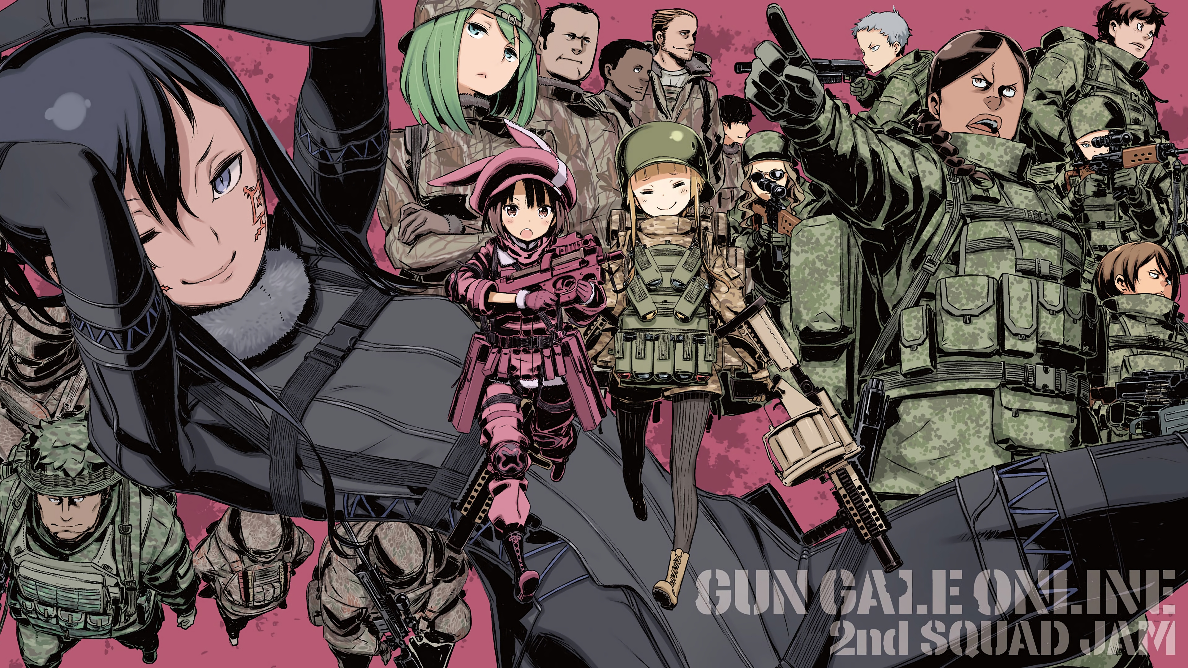 SAO Alternative Gun Gale Online wallpaper 24