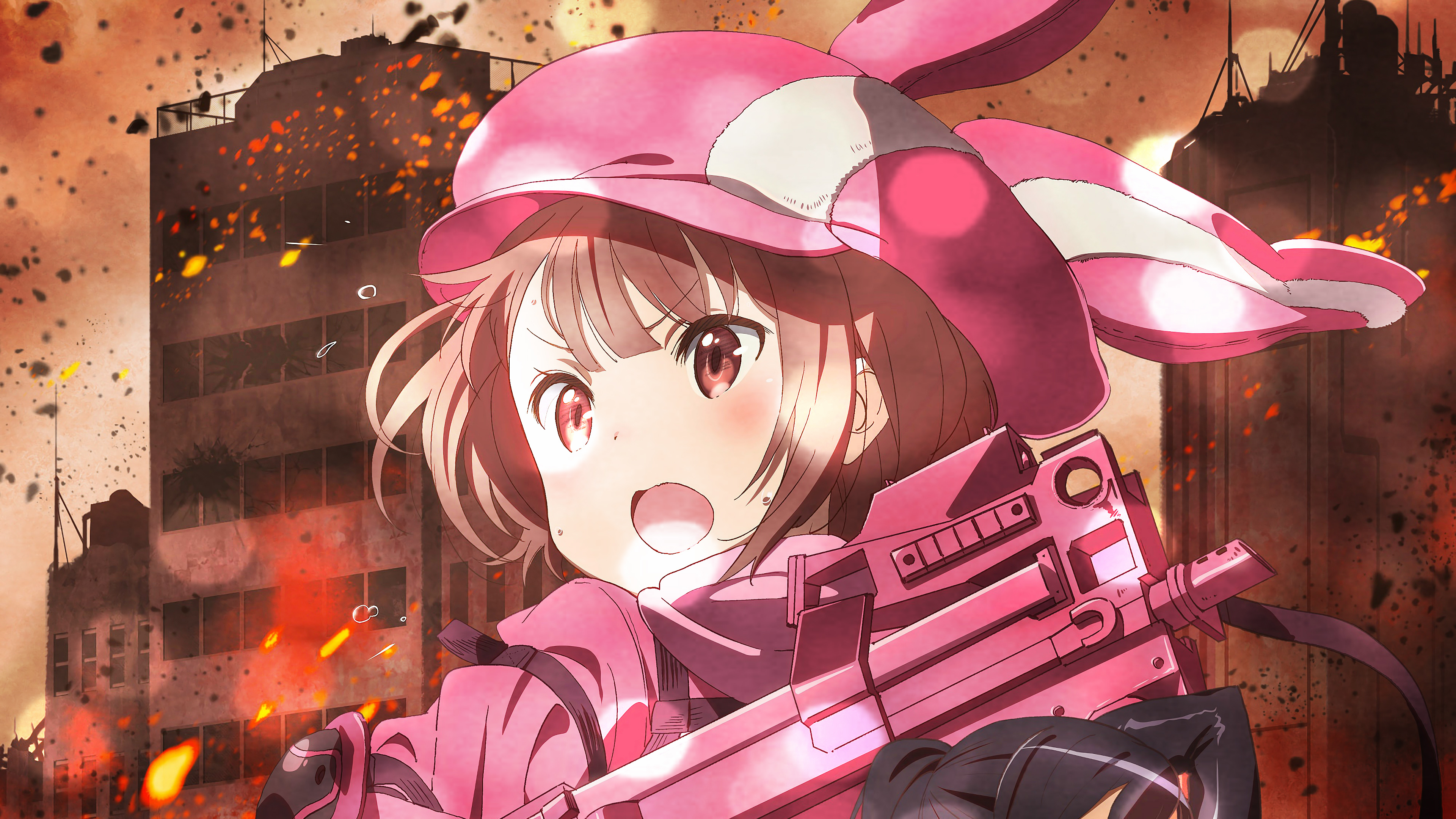 SAO Alternative Gun Gale Online wallpaper 37