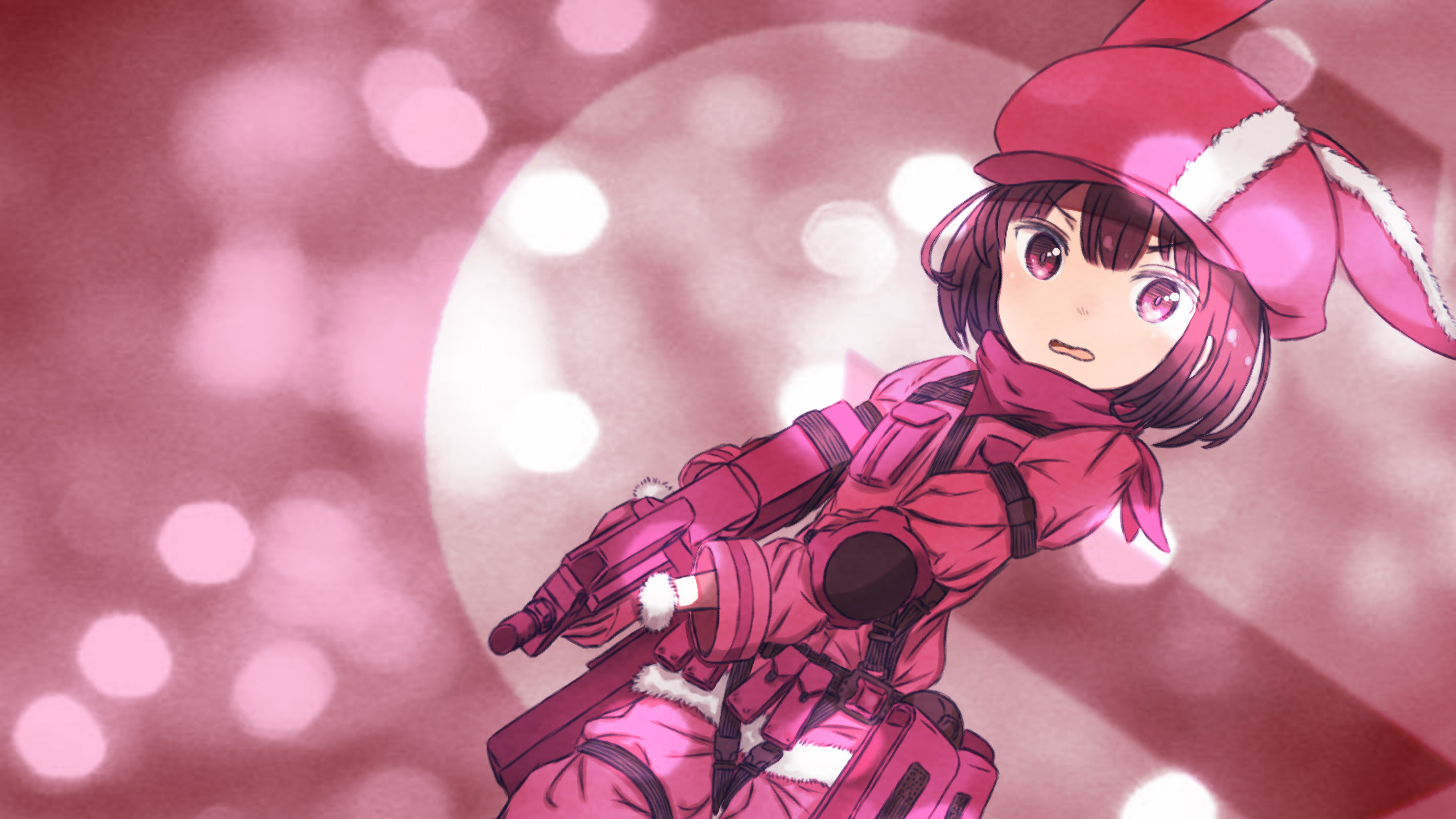 SAO Alternative Gun Gale Online wallpaper 39