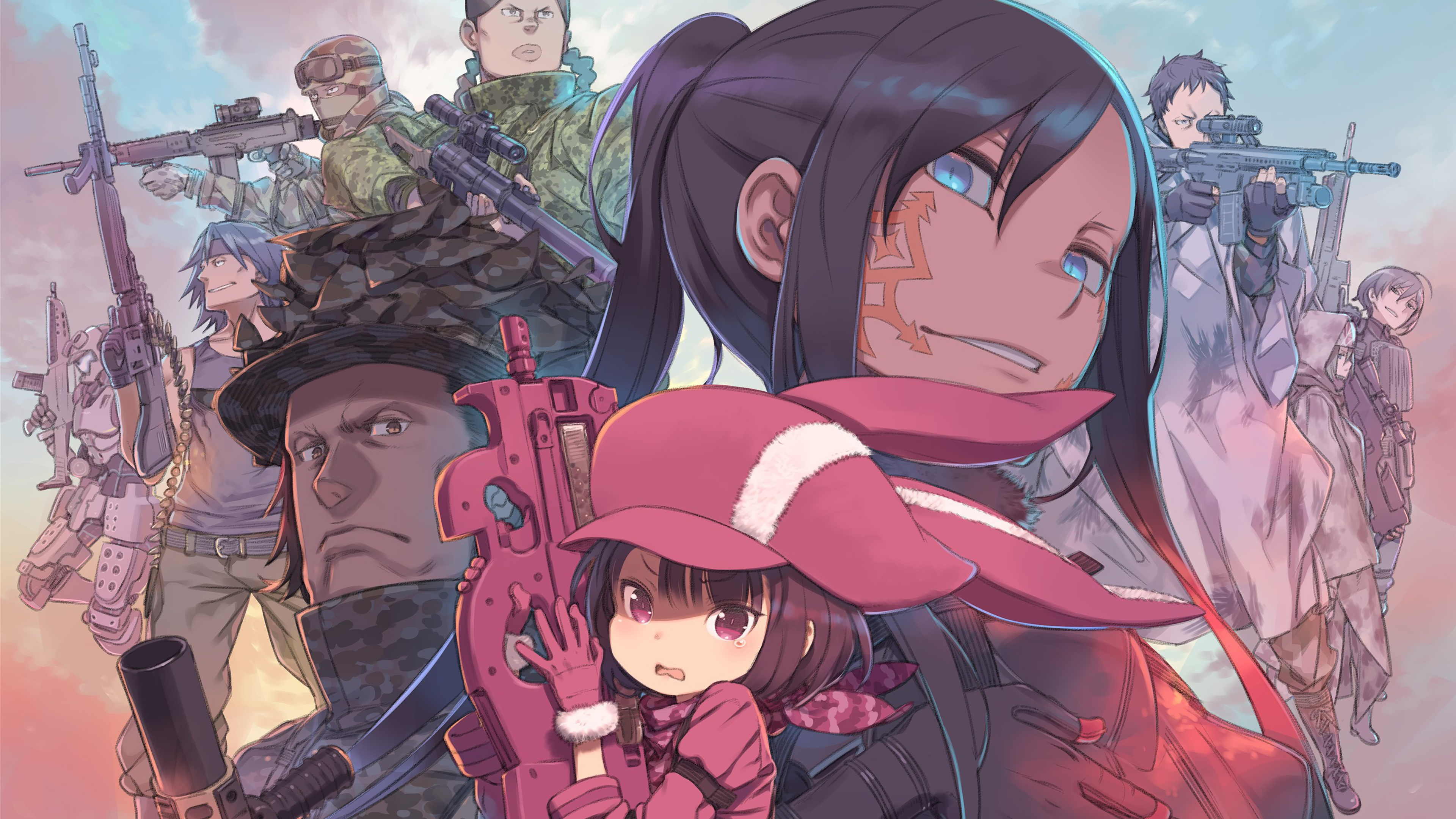 SAO Alternative Gun Gale Online wallpaper 6