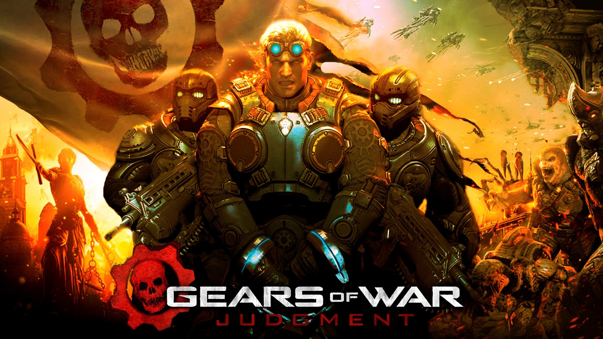 gears of war judgement wallpaper 13