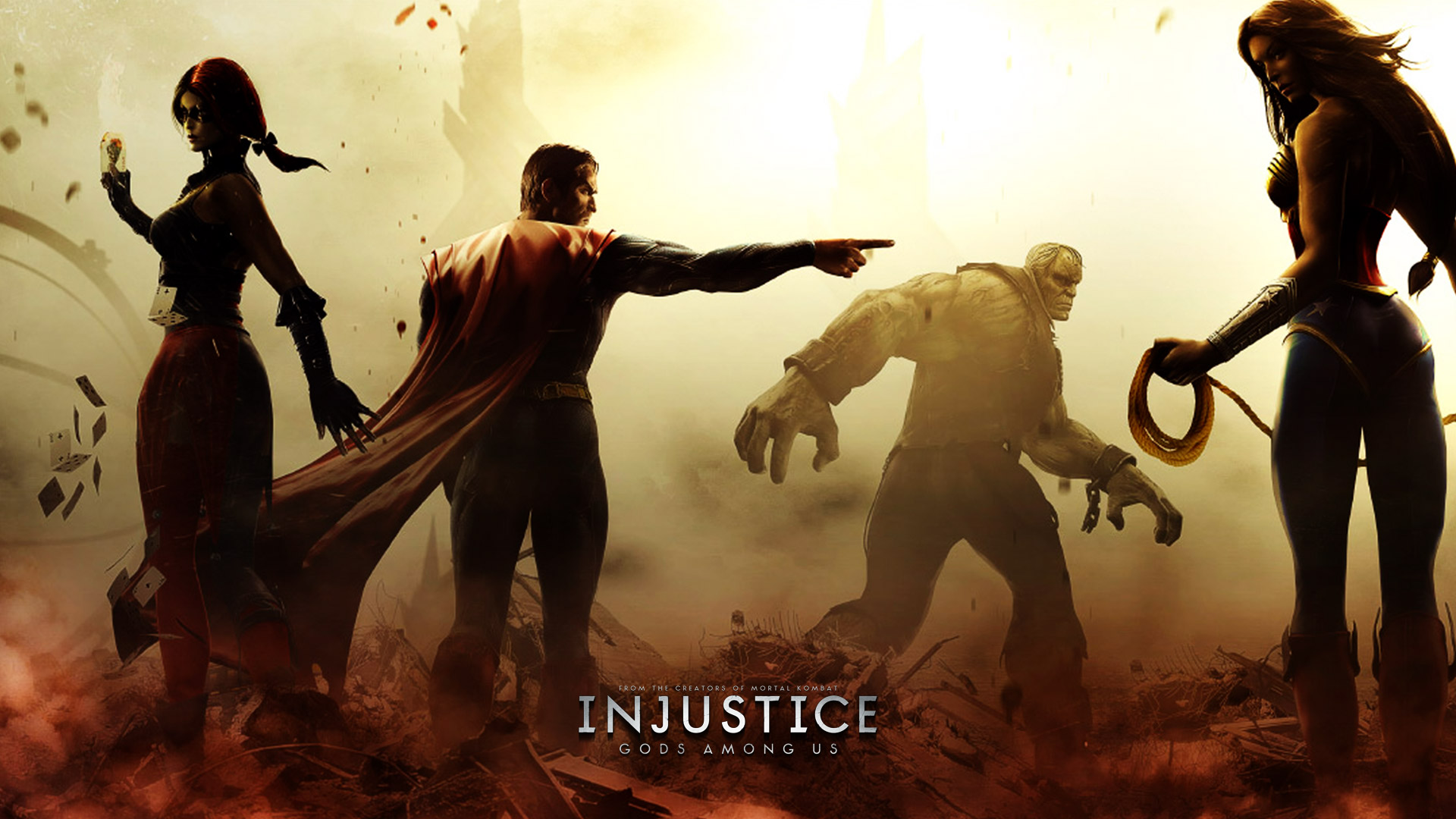 Injustice gods among us wallpaper 14 voltagebd