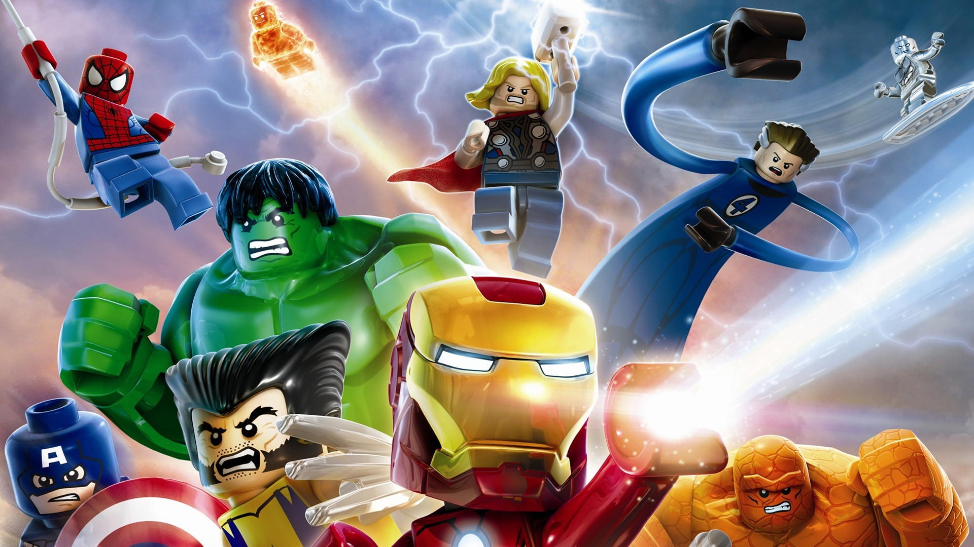Lego Marvel Super Heroes wallpaper 1