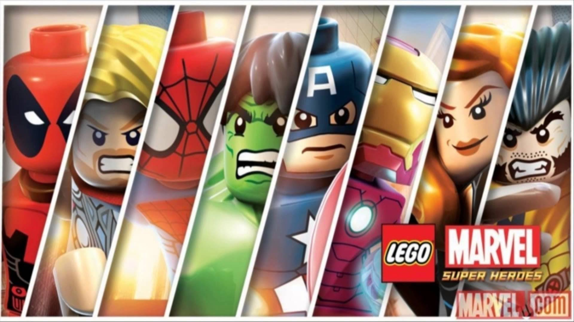 lego marvel super heroes wallpaper 2