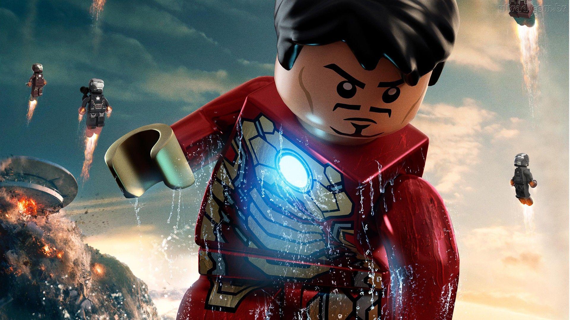 Lego Marvel Super Heroes Wallpaper 5