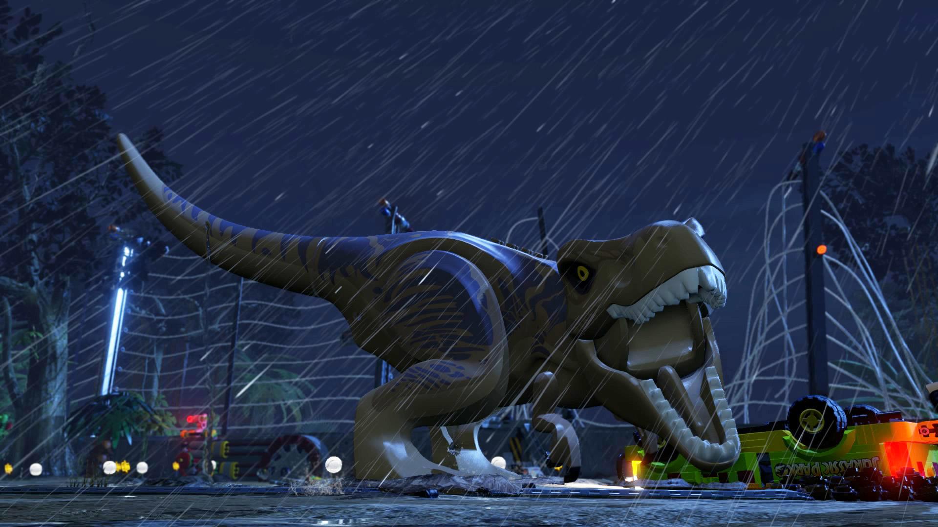 Lego Jurassic World wallpaper 3