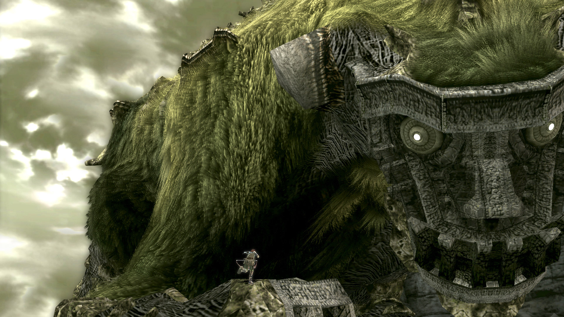 how to play shadow of the colossus on pcsx3