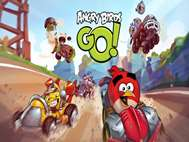 Angry Birds Go wallpaper 1
