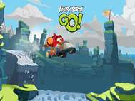 Angry Birds Go wallpaper 2