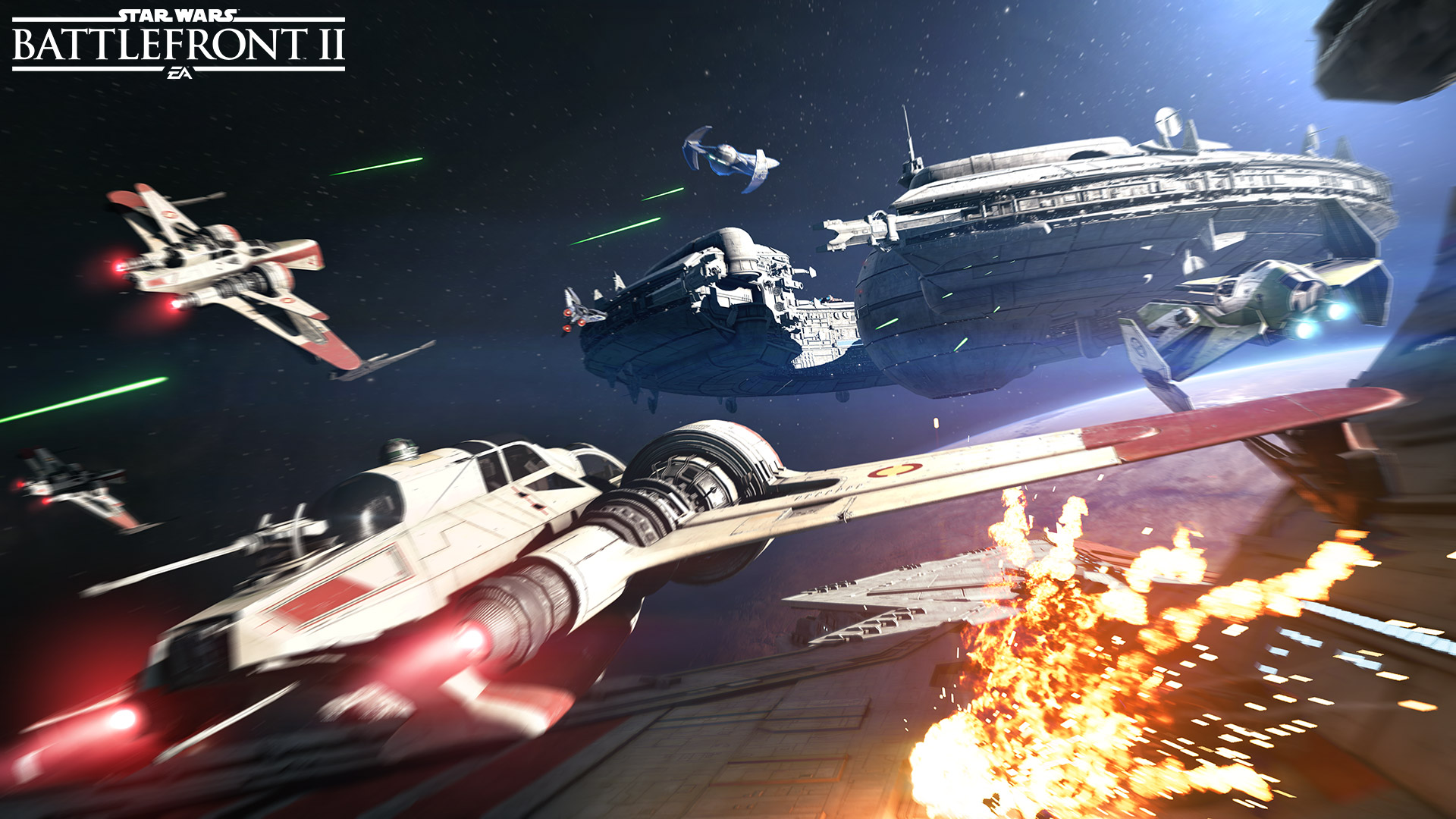 Star Wars Battlefront 2 background 12