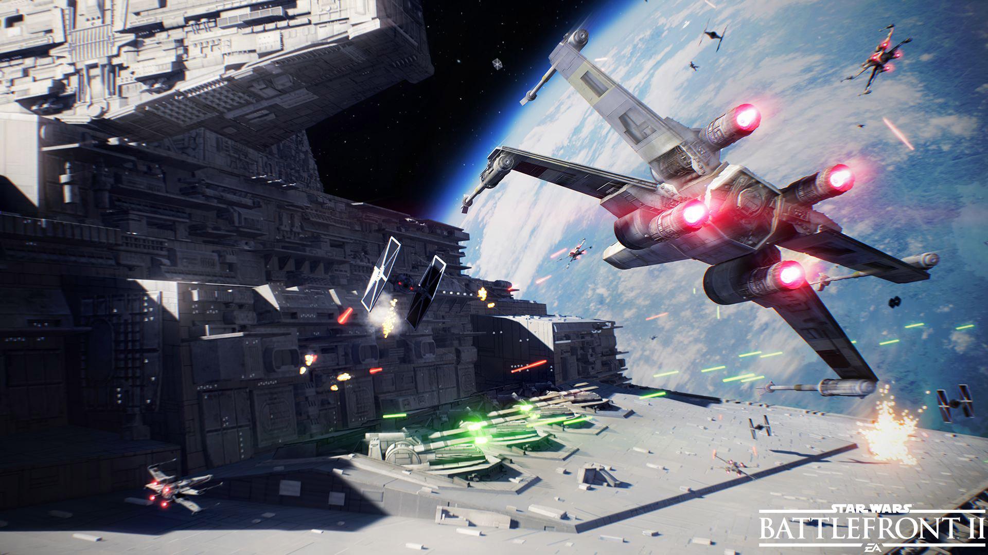 Star Wars Battlefront 2 background 16