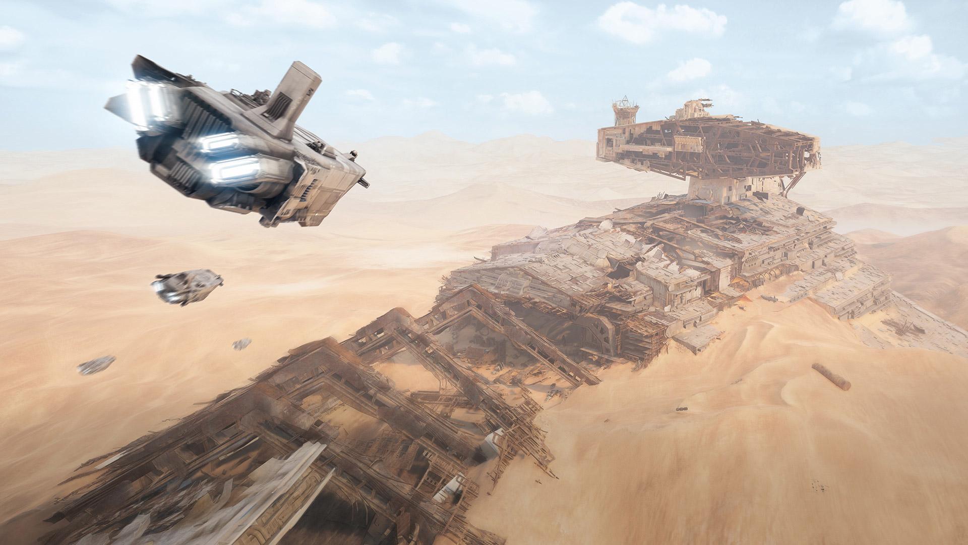 Star Wars Battlefront 2 background 18