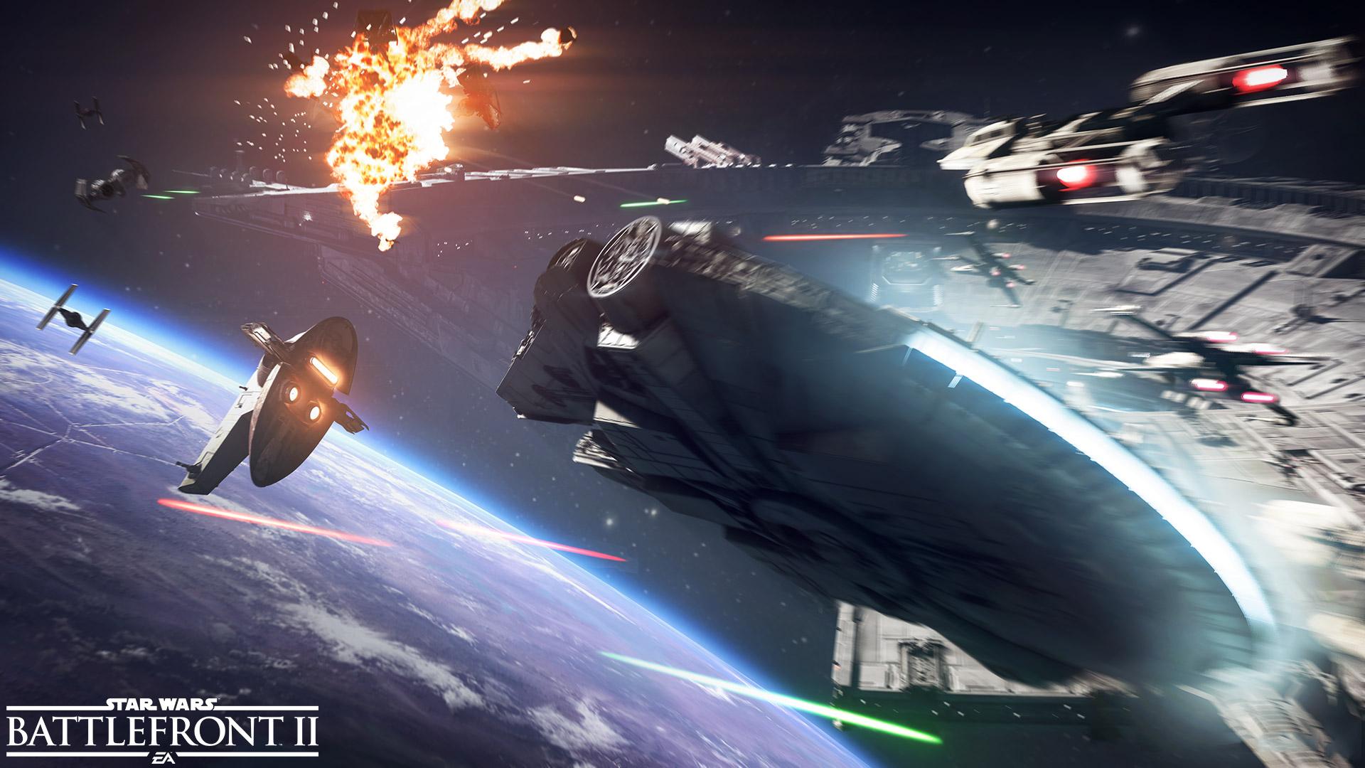 Star Wars Battlefront 2 background 4