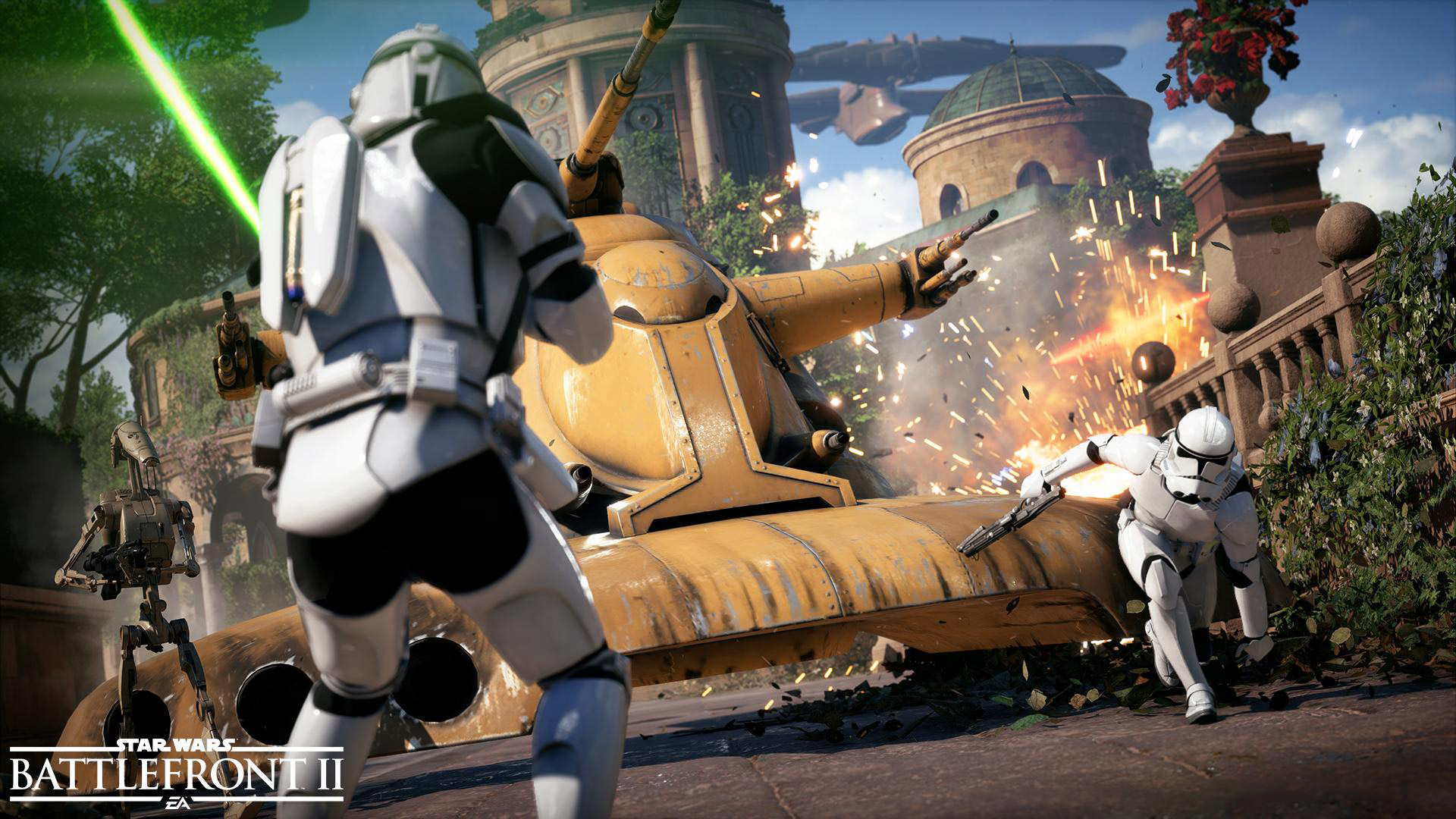 Star Wars Battlefront 2 background 6