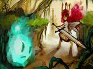 Child of Light wallpaper 1