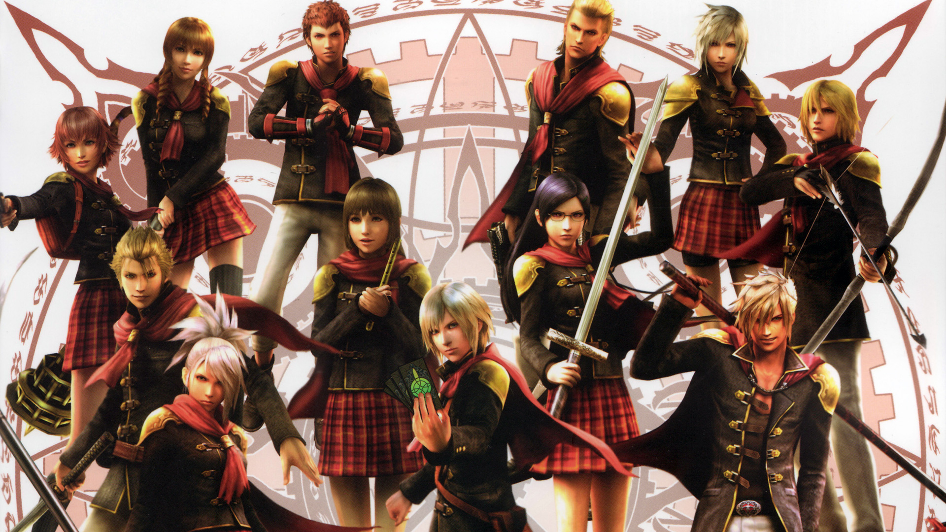 Final Fantasy Type 0 Hd Games 4k Wallpapers Images: Final Fantasy Type-0 Wallpaper 7