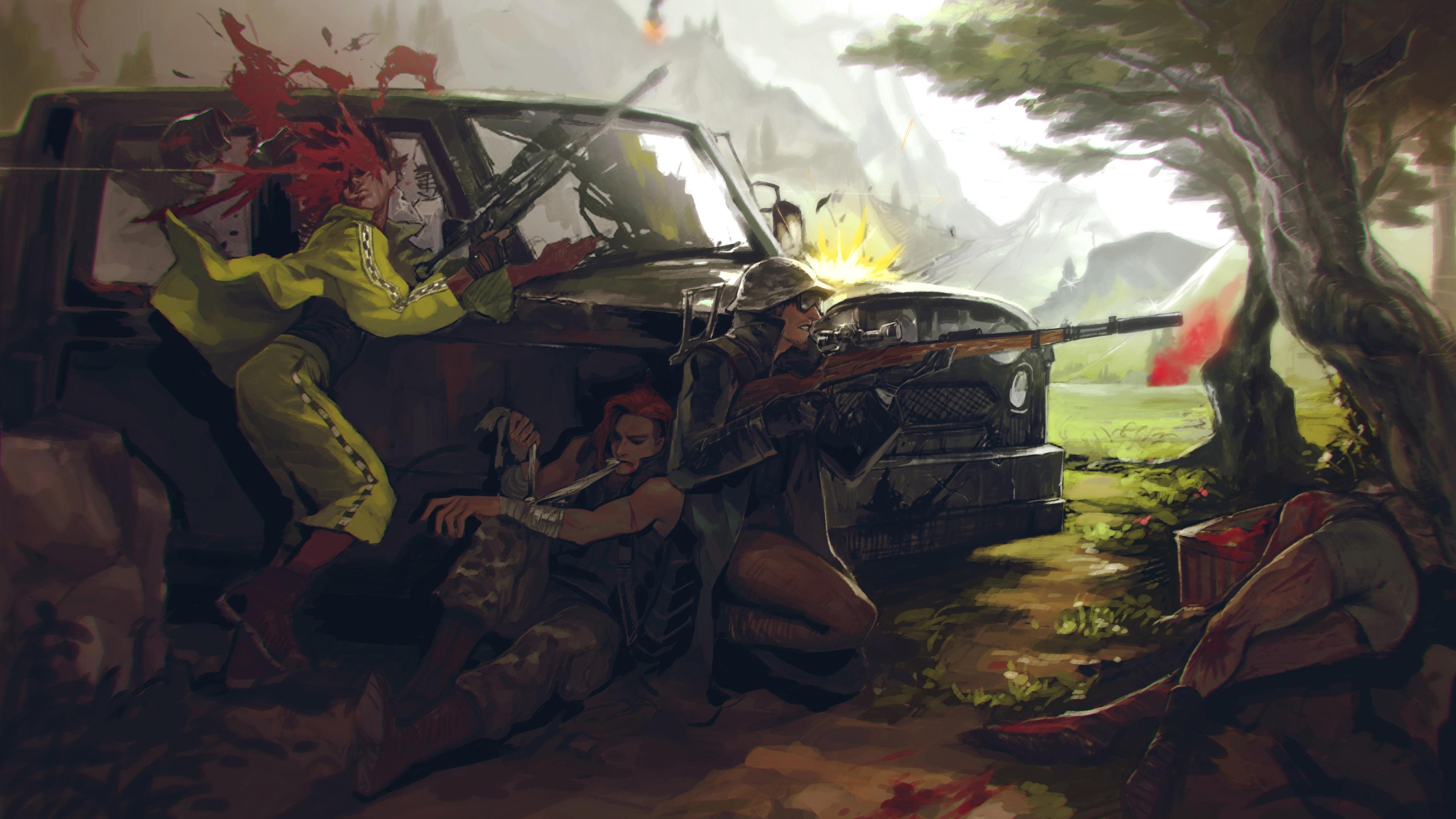 Playerunknown S Battlegrounds Wallpapers: PUBG Playerunknowns Battlegrounds Background 29