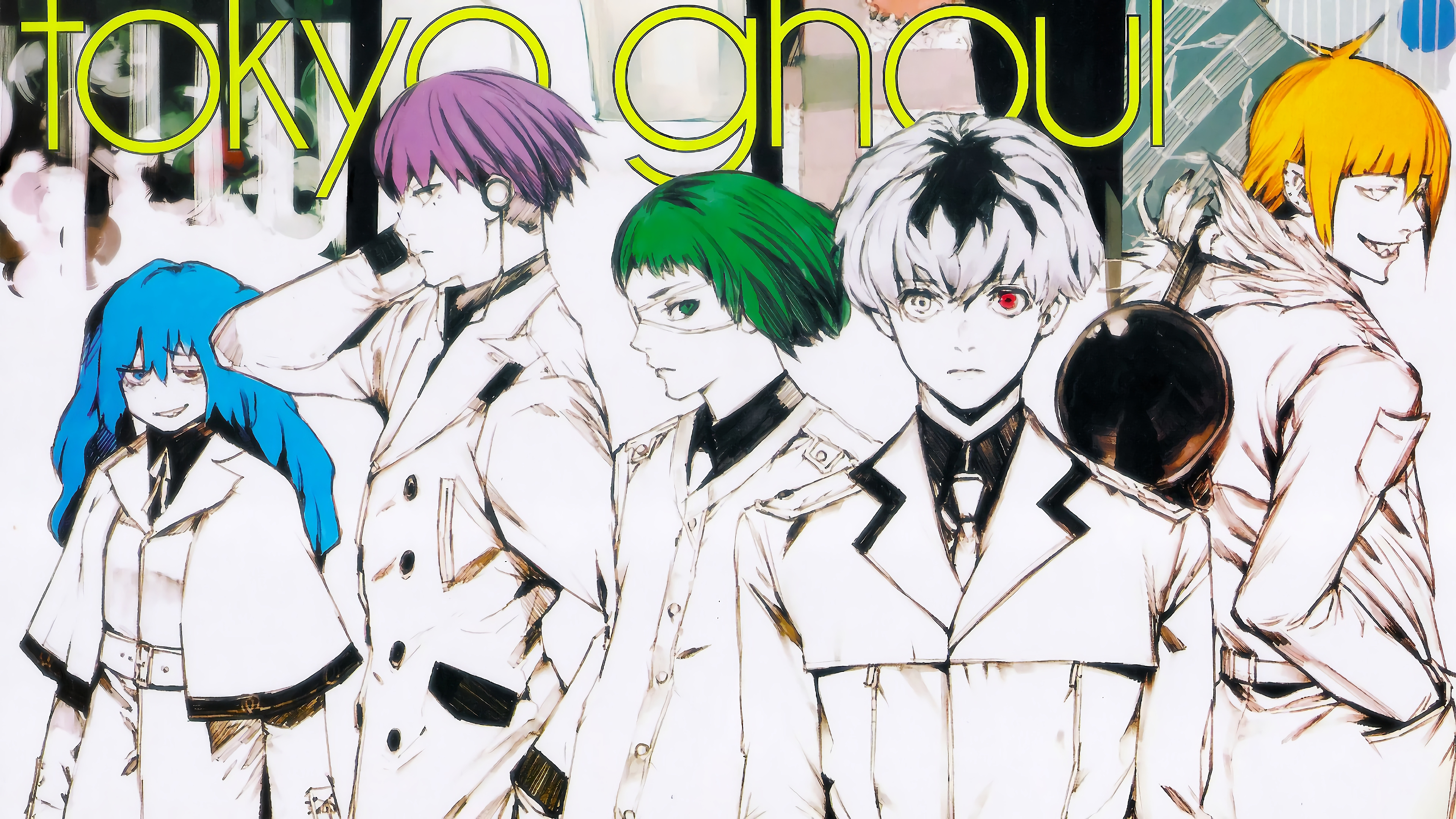 Tokyo Ghoul Re background 8