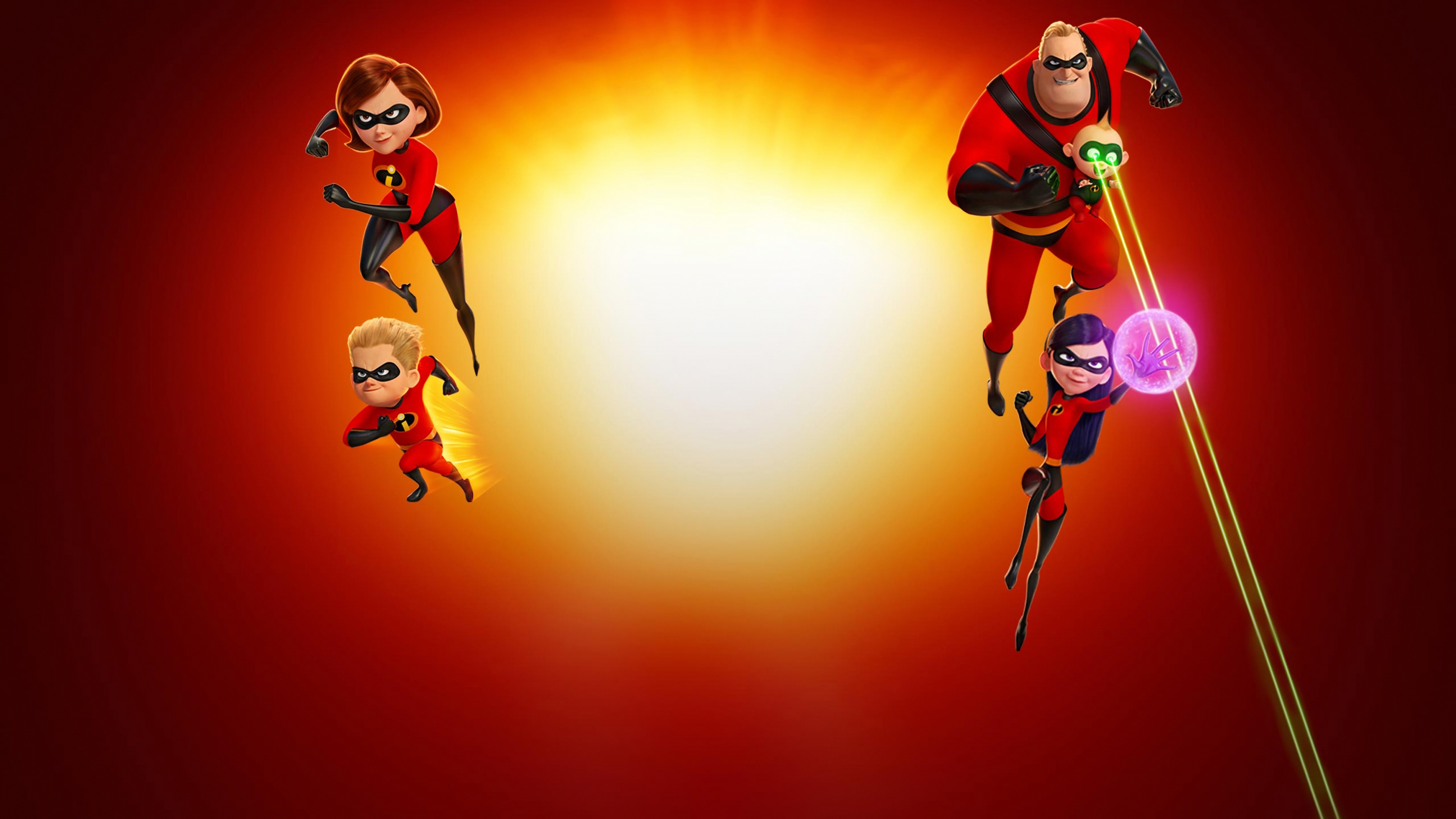Incredibles 2 background 23