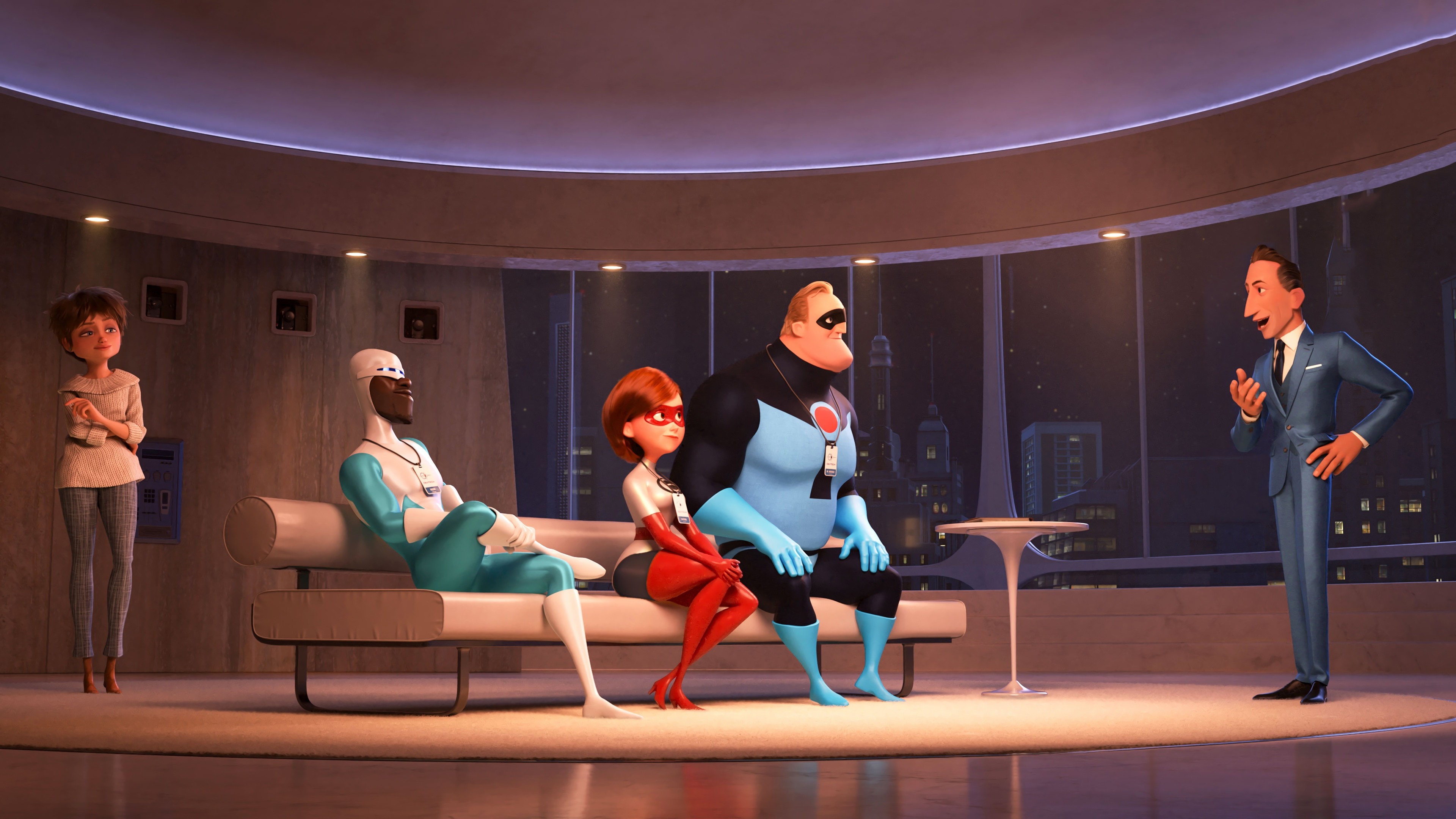 Incredibles 2 background 6