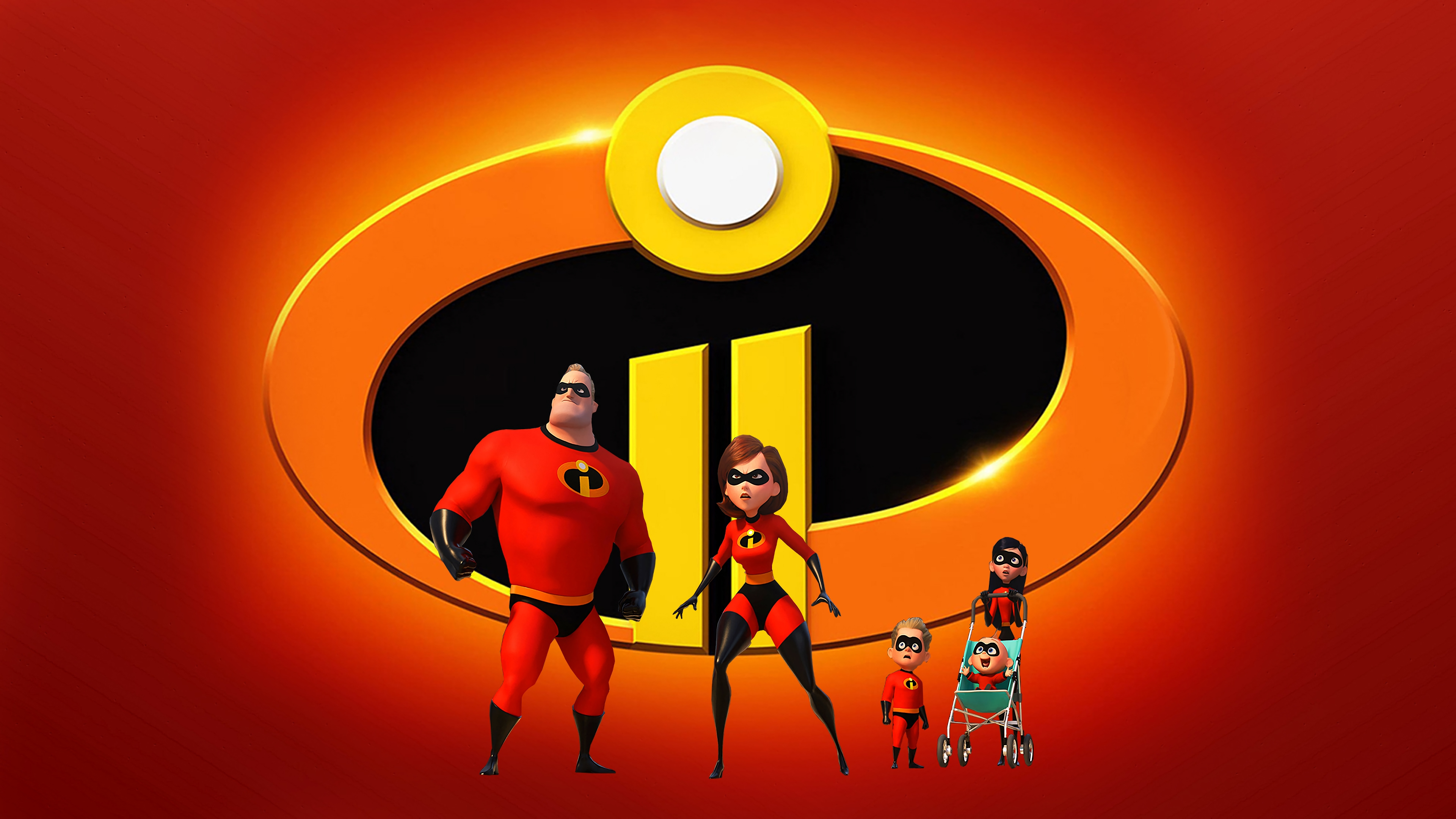 Incredibles 2 background 7