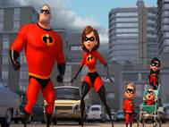 Incredibles 2 background 1