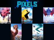 Pixels Movie wallpaper 3