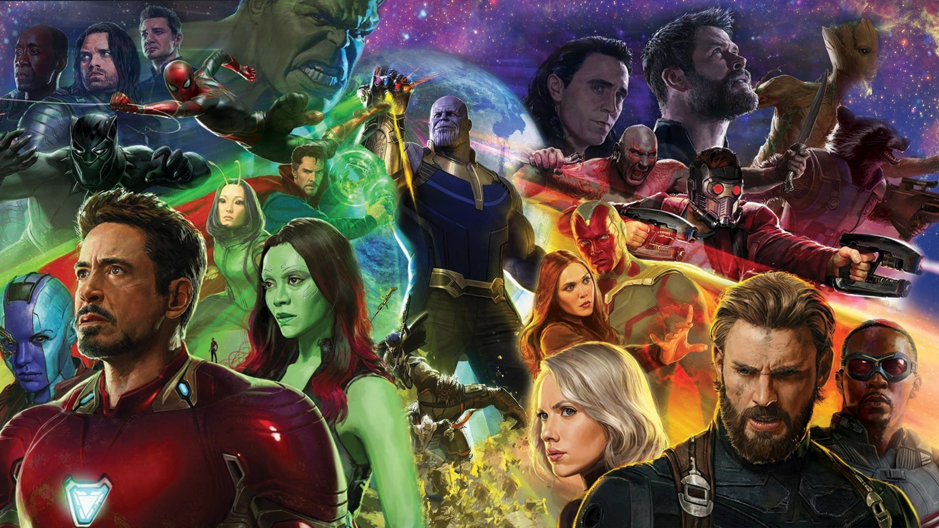 Avengers Infinity War Wallpaper 4