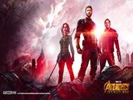 Avengers Infinity War background 1