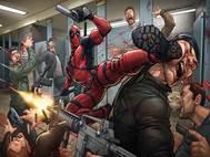 Deadpool 2 background 20