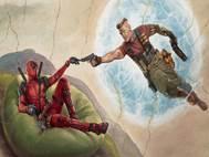 Deadpool 2 background 28