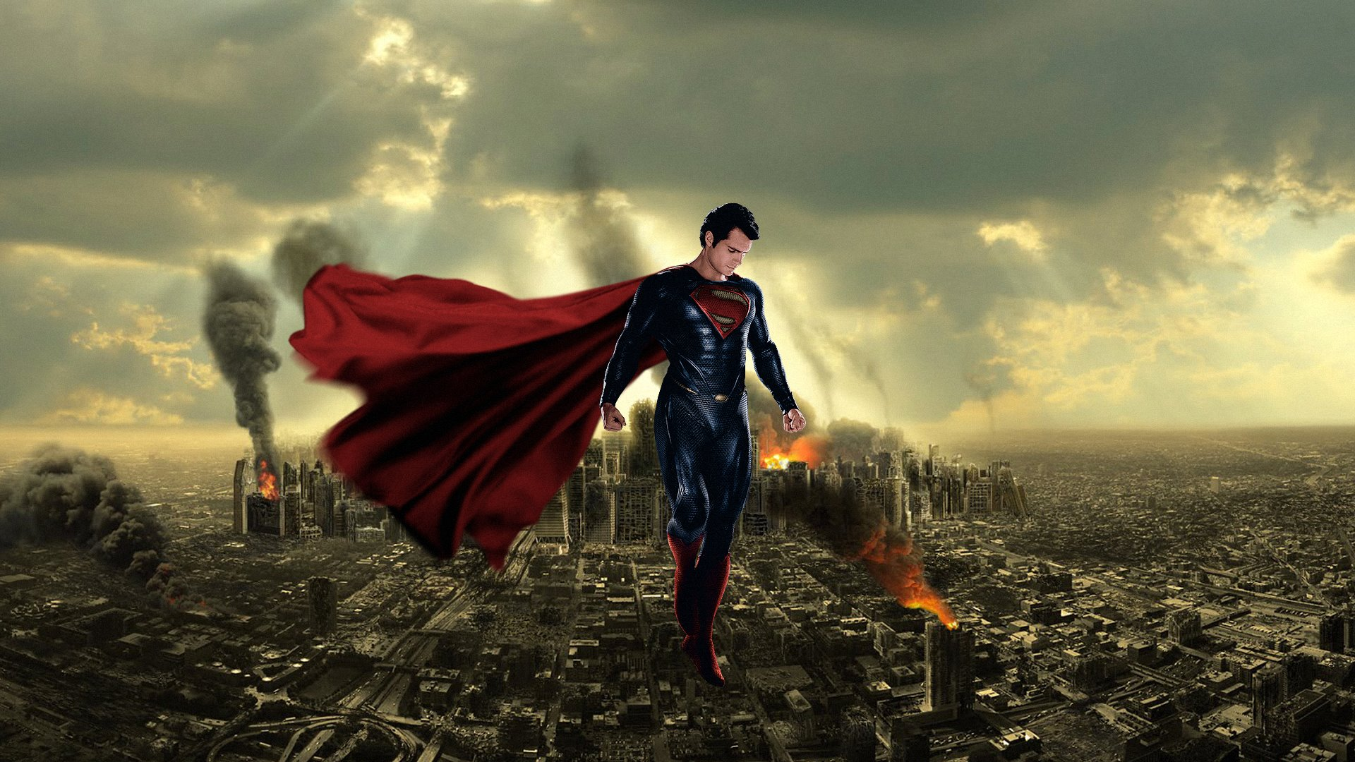 Superman Man of Steel wallpaper 11