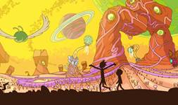 Rick and Morty background 16
