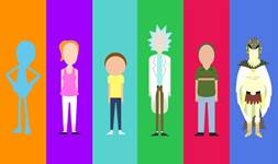 Rick and Morty background 24
